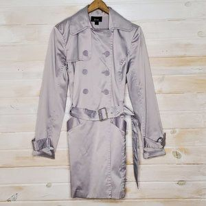 3/$25 Bwear Pea Coat Fitted Silver